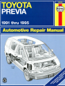Toyota Previa (91-95) Haynes Repair Manual