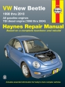 Volkswagen VW New Beetle 1.8 & 2.0L Gas (98-10) & 1.9L TDI Diesel (98-04) Haynes Repair Manual