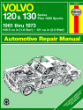 Volvo 120 & 130 Series, & P1800 Sports (1961-1973) Haynes Repair Manual