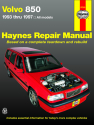 Volvo 850 (93-97) Haynes Repair Manual