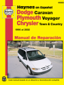 Dodge Caravan, Plymouth Voyager & Chrysler Town & Country (96-02) Haynes Repair Manual (edición española)