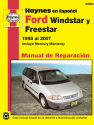 Ford Windstar (95-03) & Ford Freestar & Mercury Monterey (04-07) Haynes Repair Manual (edición española)