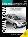 General Motors Acadia/Enclave/Outlook & Traverse (2007-13) for of GMC Acadia, Buick Enclave, Saturn Outlook & Chevrolet Traverse Chilton Repair Manual (USA)