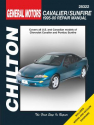 General Motors Cavalier/Sunfire Chilton Repair Manual for 1995-00 covering all models of Chevrolet Cavalier and Pontiac Sunfire