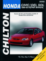 Honda Civic, CRX & del Sol (1996-00) Chilton Repair Manual (USA)