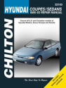Hyundai Chilton Repair Manual for 1986-93 covering all models of Elantra, Excel, Scoupe and Sonata