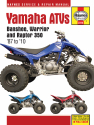Yamaha Banshee, Warrior, & Raptor 347cc & 348cc models (87-10) Haynes Repair Manual