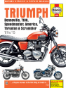 Triumph Bonneville, T100, Speedmaster, America, Thruxton & Scrambler (01-15) Haynes Repair Manual (See specific years covered)