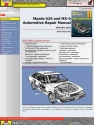 FWD Mazda 626 & MX-6 (83-92) Haynes Online Manual