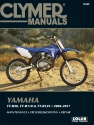 Yamaha TT-R50, TT-R110 and TT-R125 (04-17) Clymer Repair Manual
