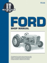 Ford New Holland Model 701-4140 Gasoline & Model 501-700 Diesel Tractor Service Repair Manual