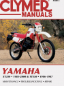 Yamaha XT350 & TT350 Motorcycle (1985-2000) Service Repair Manual