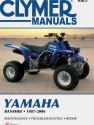 Yamaha Banshee ATV (1987-2006) Service Repair Manual