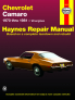 Chevrolet Camaro (70-81) Haynes Repair Manual