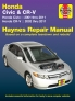 Honda Civic (01-11) & CR-V (02-11) Haynes Repair Manual