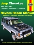 Jeep Cherokee Cherokee, Comanche & Wagoneer Limited, 2WD & 4WD, Gas (84-01) Haynes Repair Manual