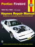 Pontiac Firebird (82-92) Haynes Repair Manual
