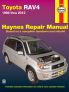 Toyota RAV4 (96-12) Haynes Repair Manual