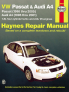 Volkswagen VW Passat (98-05) & Audi A4 1.8L turbo & 2.8L V6 (96-01) Haynes Repair Manual