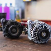 new and old alternators