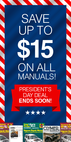 President's Day Promotion Sidebar
