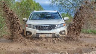 Kia Sorento mud