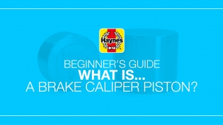What is a brake caliper piston