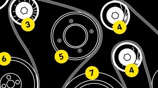 Anatomy of an auxiliary drivebelt
