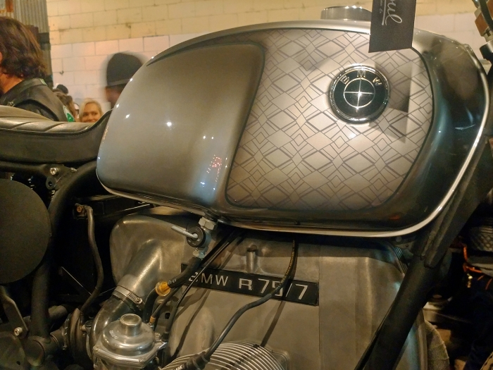 The 3rd annual womens motorcycle show lucky wheels garage los airhead boxer bmw with custom paint solutioingenieria Gallery