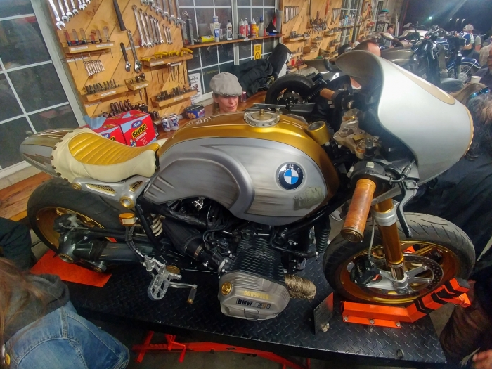 The 3rd annual womens motorcycle show lucky wheels garage los oilhead boxer bmw of tv personality jessi combs solutioingenieria Gallery