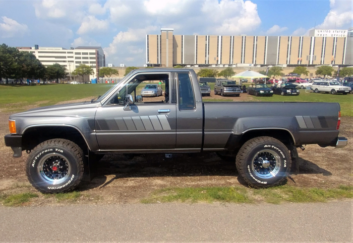 Simply called Toyota Pickup, most were worked half to death