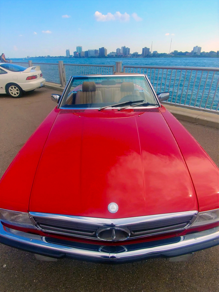 The official top down cruiser of 1980s young urban professionals off to the country club