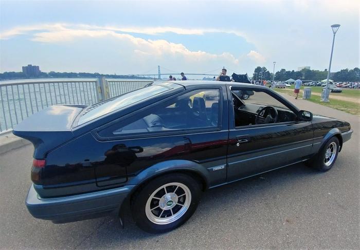 The Trueno, aka RWD Toyota Corolla sports coupe was affordable fun