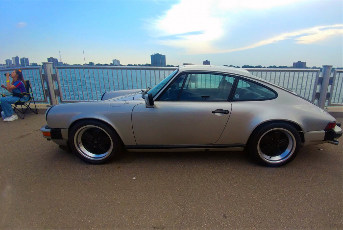 The shape of a 911 is unmistakable to anyone who was into fast cars during the past 50 years