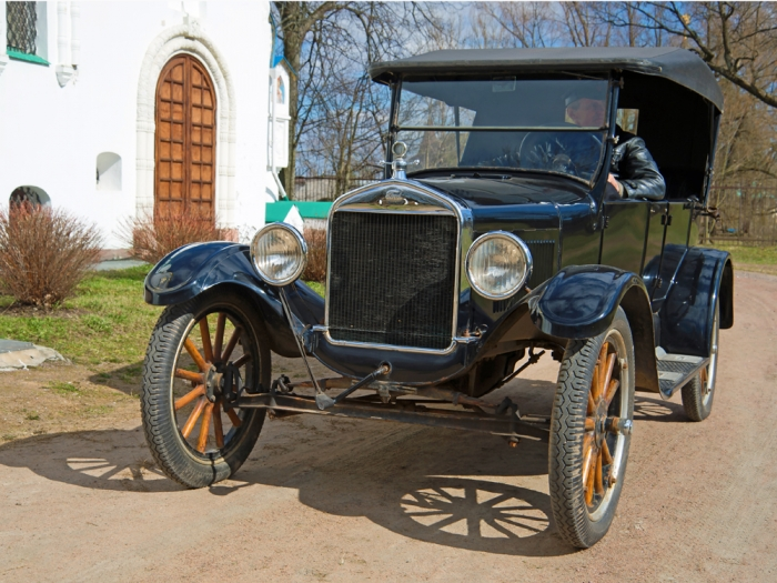 Famously, you could get the Model T in any color, as long as it was black. Colors were offered later at additional cost