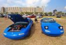 A pair of happy Mazda Miatas