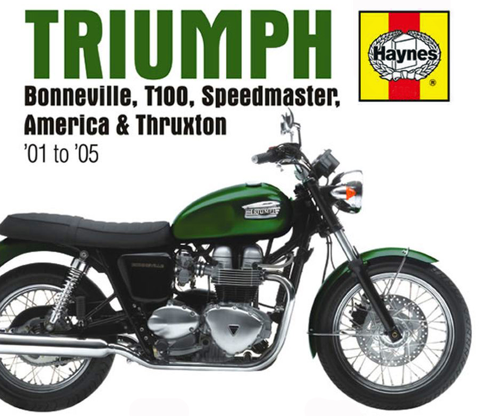 Haynes Triumph new Bonneville manual