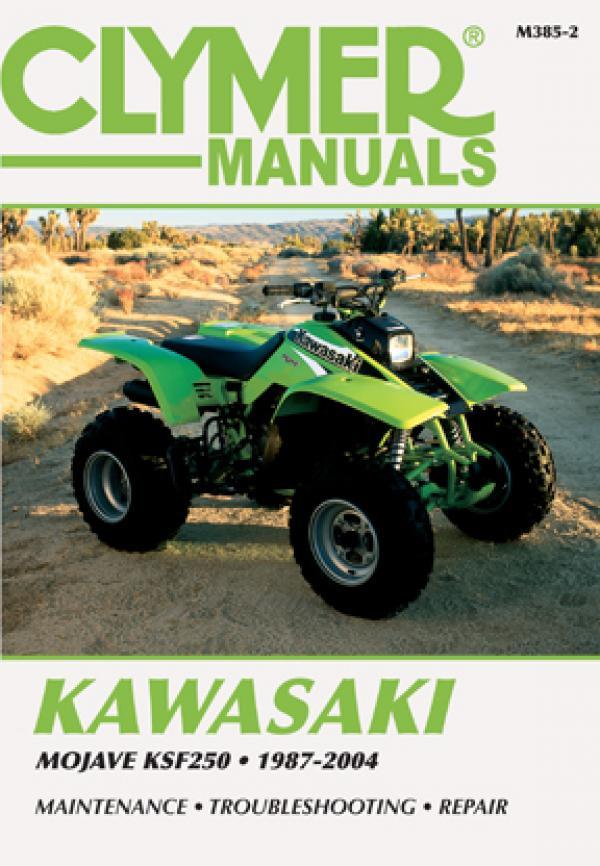 Manual cover for Kawasaki Mojave KSF250 ATV (1987-2004) Service Repair Manual Online Manual