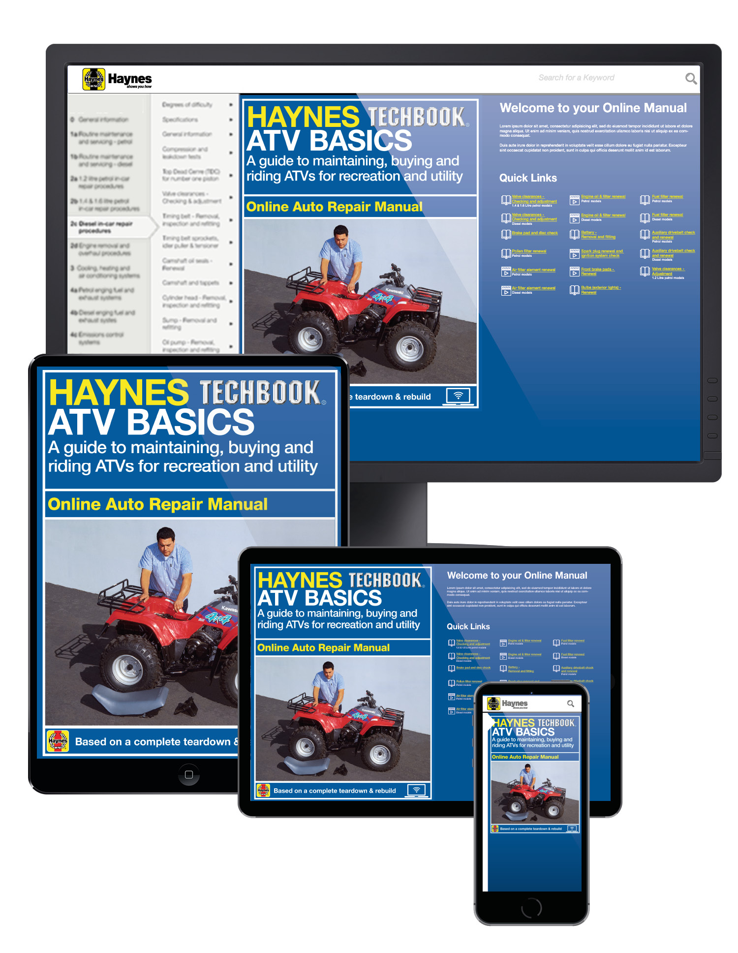 Picture of other ATV Basics Haynes Techbook Online