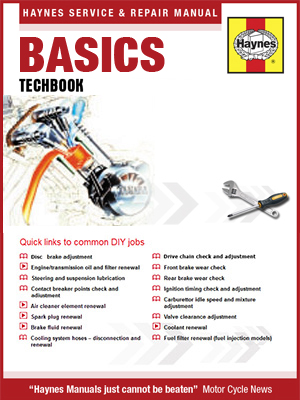 Picture of other Motorcycle Basics Haynes Techbook Manual Online